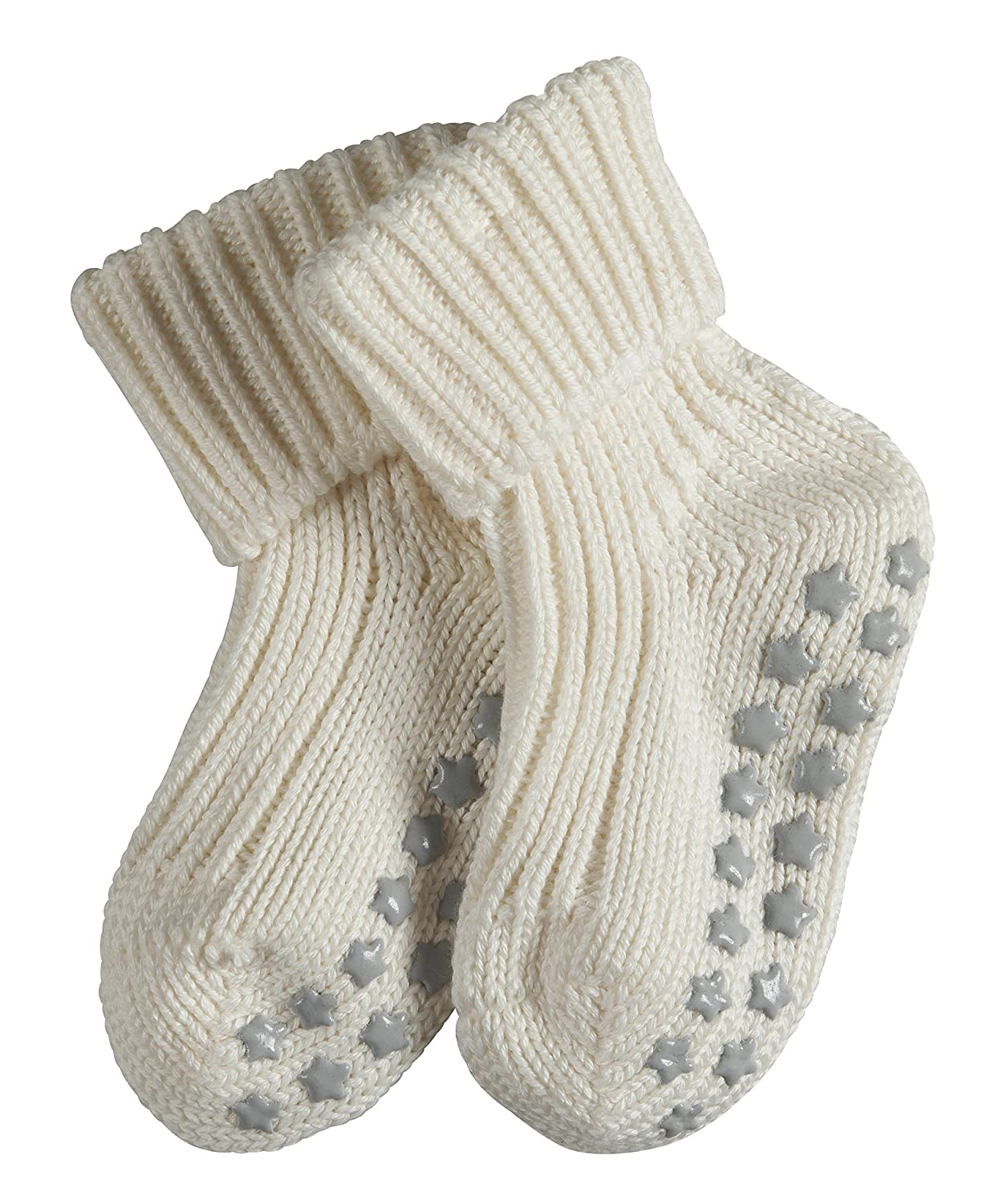 FALKE Unisex Baby Catspads Cotton Socks anti-slip sole Home sock for baby boys and girls 1 Pair 96/% Cotton Multiple Colours Sizes 1-18 months