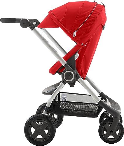 Stokke - Silla de Paseo ® Scoot V2 rojo: Amazon.es: Bebé