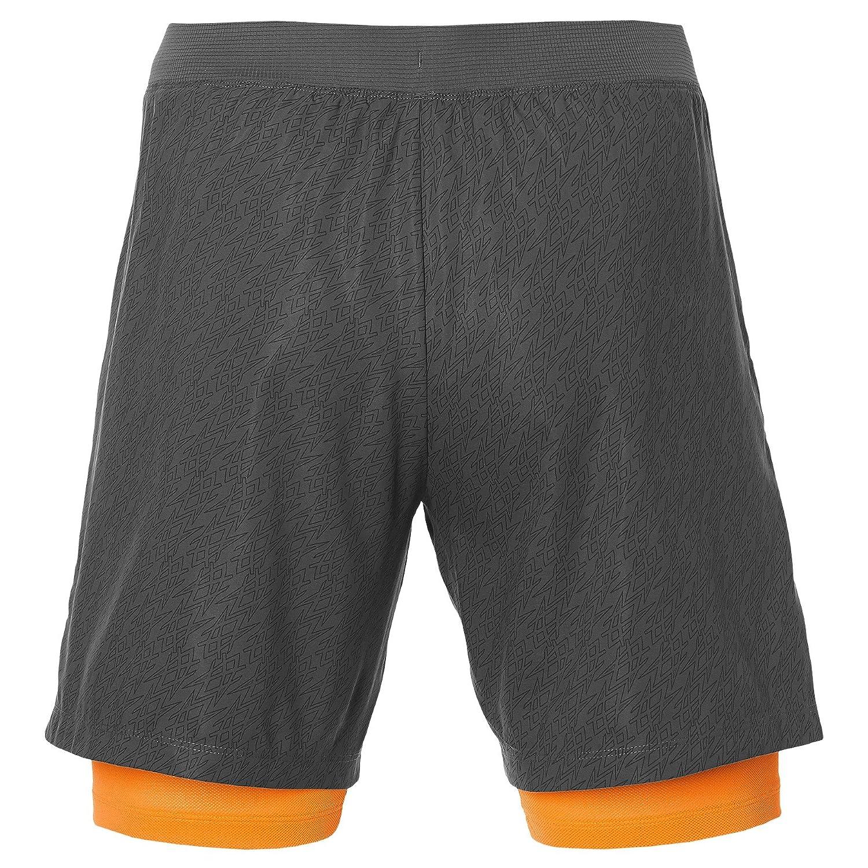 ASICS Padel Player GPX 7IN 2IN1 Pantalones Cortos, Hombre, Gris (Dark Grey), L