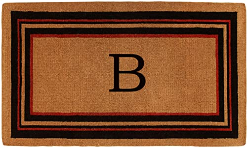 Calloway Mills 180061830B Esquire Monogram Doormat