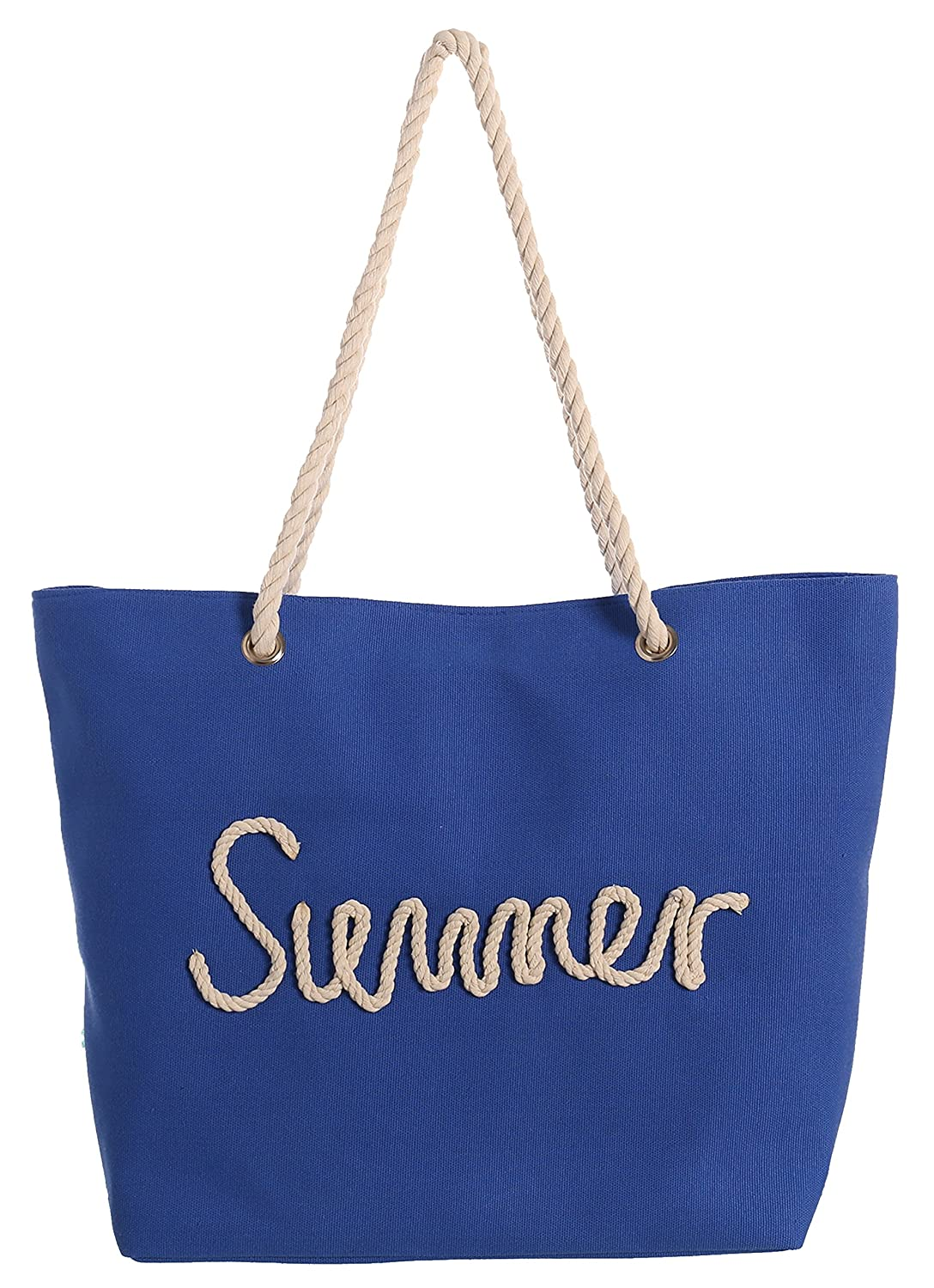 Juinsa Summer Bolsa de Tela y de Playa, 51 cm: Amazon.es ...
