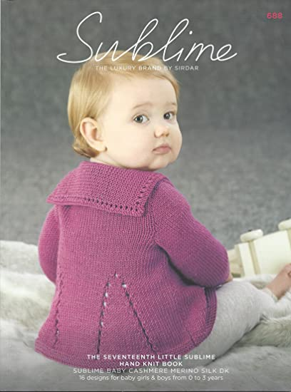 d8be153c5 Sublime Knitting Pattern Book - 688 The Seventeenth Little Sublime ...