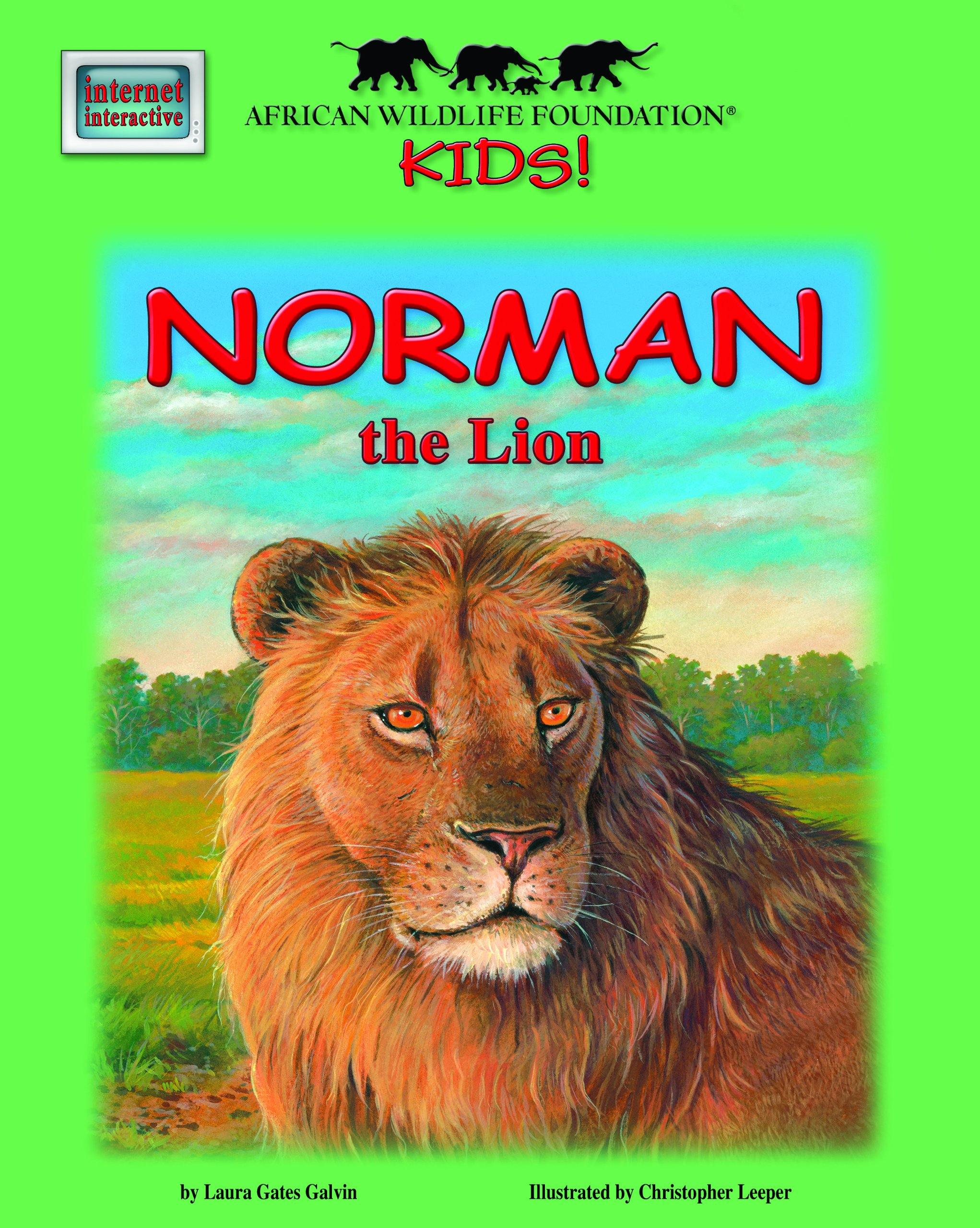 Download Norman the Lion - An African Wildlife Foundation Story (Mini book) (Meet Africas Animals) ebook