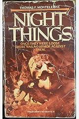 Night things Paperback