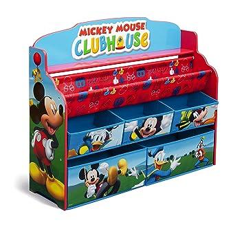 Amazon.com: Delta Children Deluxe Book & Toy Organizer, Disney