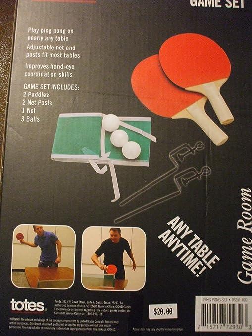 & Amazon.com: Table Top Ping Pong Game Set: Toys \u0026 Games