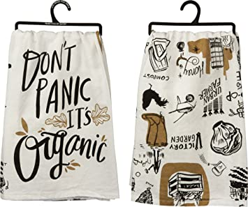 Amazon dont panic its organic cotton kitchen towel 28 in dont panic its organic cotton kitchen towel 28 in workwithnaturefo