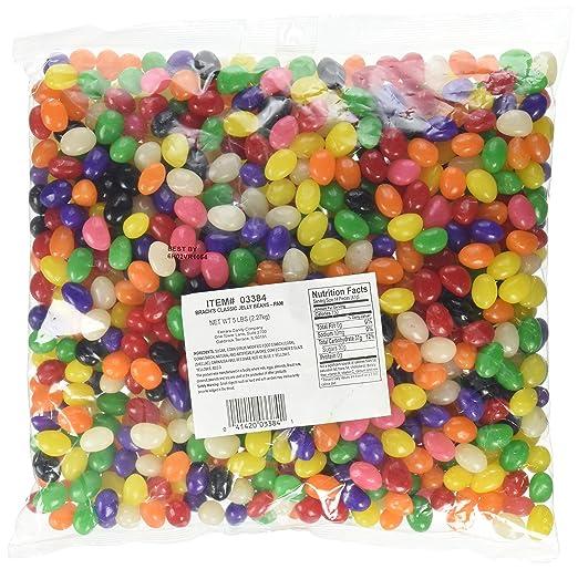Brach's Classic Jelly Beans, 5 Pound Bulk Candy Bag