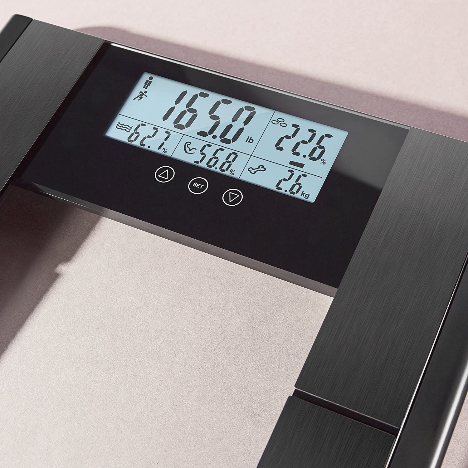 Amazon.com: Vitagoods Form Fit: Digital Scale and Body Analyzer (Body Composition Scale): Health & Personal Care