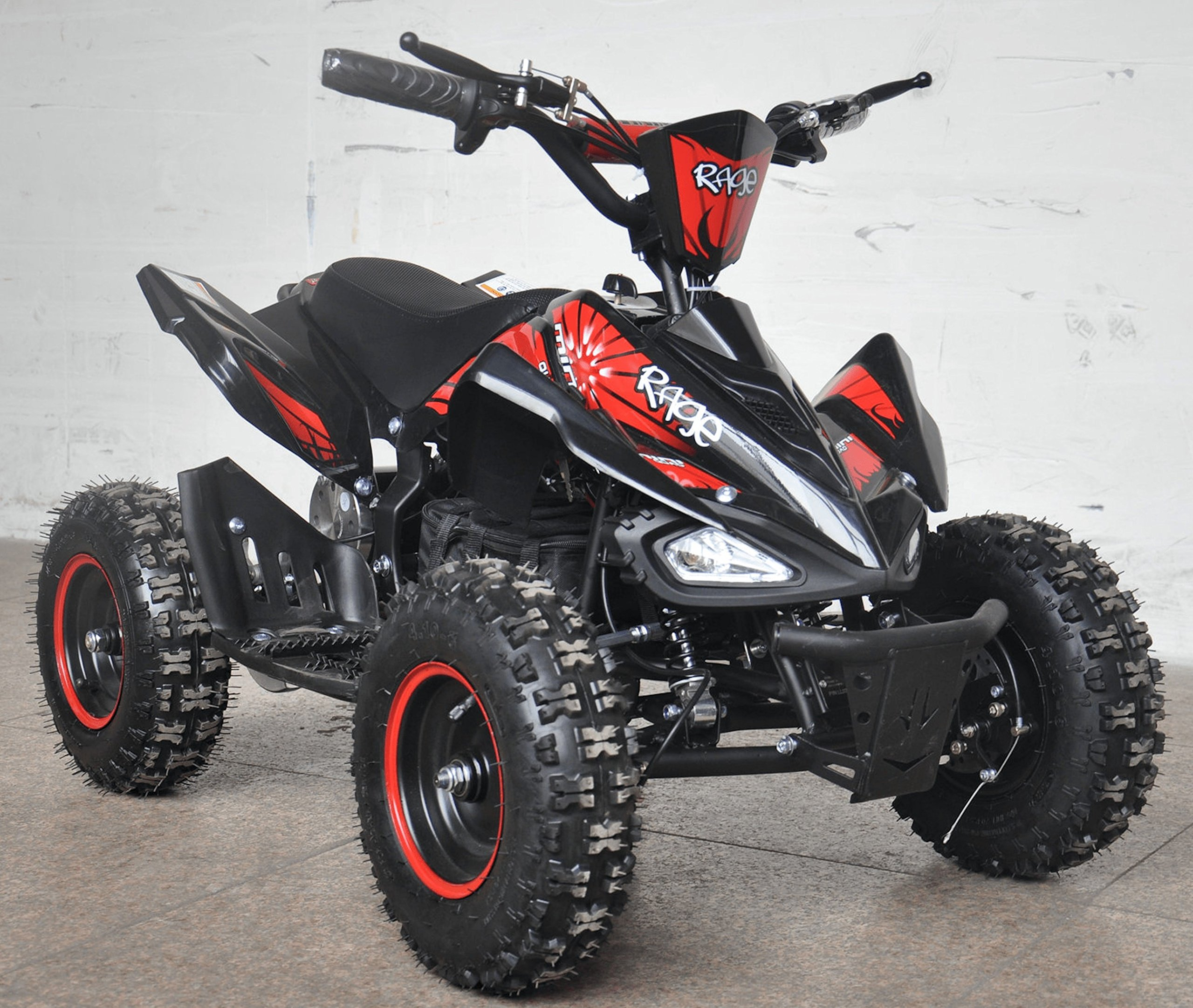 Rage Monster Extreme Electric Quad Bike 36v Red by Rage