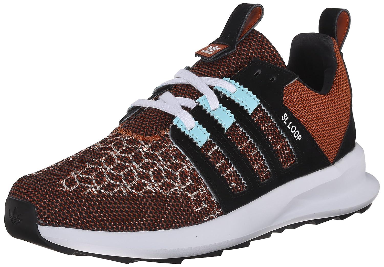 3769fd37624f adidas Originals Men s SL Loop Runner Weave Lace Up Shoe Fox Red Clear  Aqua Black 8.5 D(M) US  Amazon.in  Shoes   Handbags