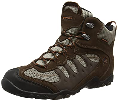 Hi-Tec Penrith Mid Waterpoof Trail Walking Boots - AW17 - 8 - Brown