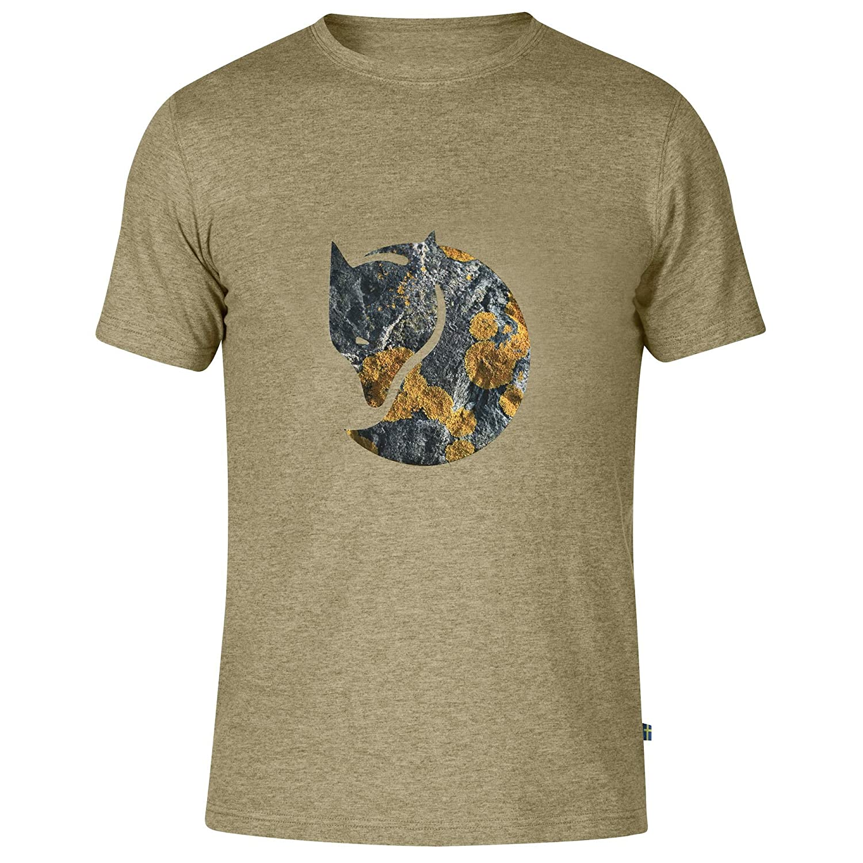 Fjällräven Rock Logo Camiseta, Hombre