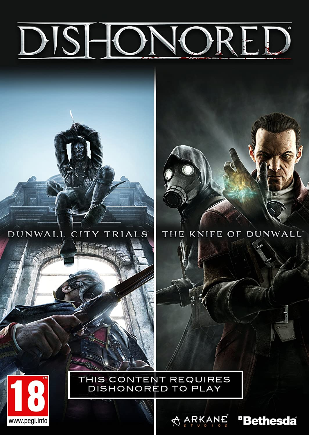 Dishonored Dlc Double Pack: Dunwall City Trials And The Knife Of Dunwall [Importación Inglesa]: Amazon.es: Videojuegos
