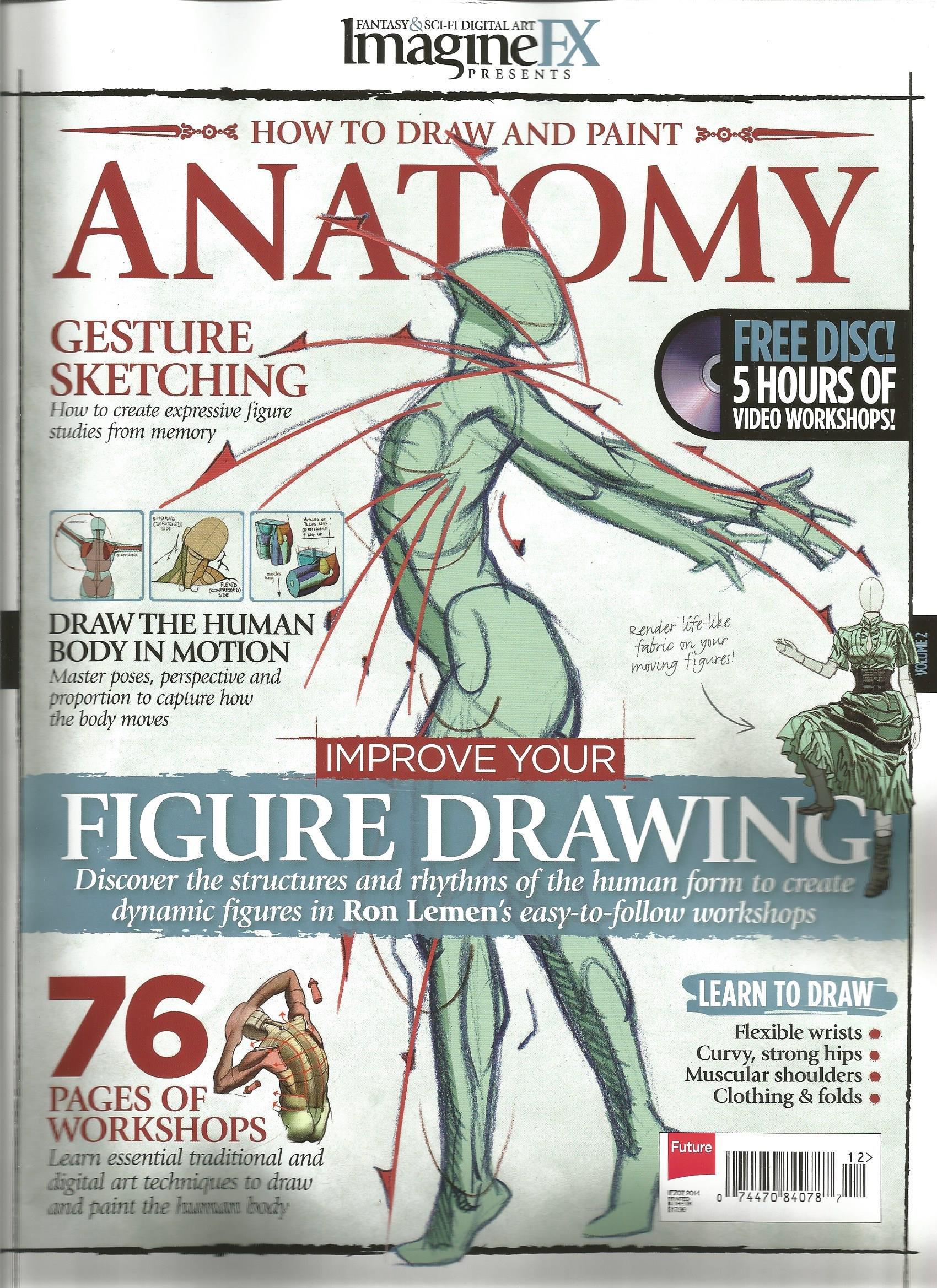 How to Draw and Paint Anatomy (Volume 2, ImagineFX Presents): Ian ...