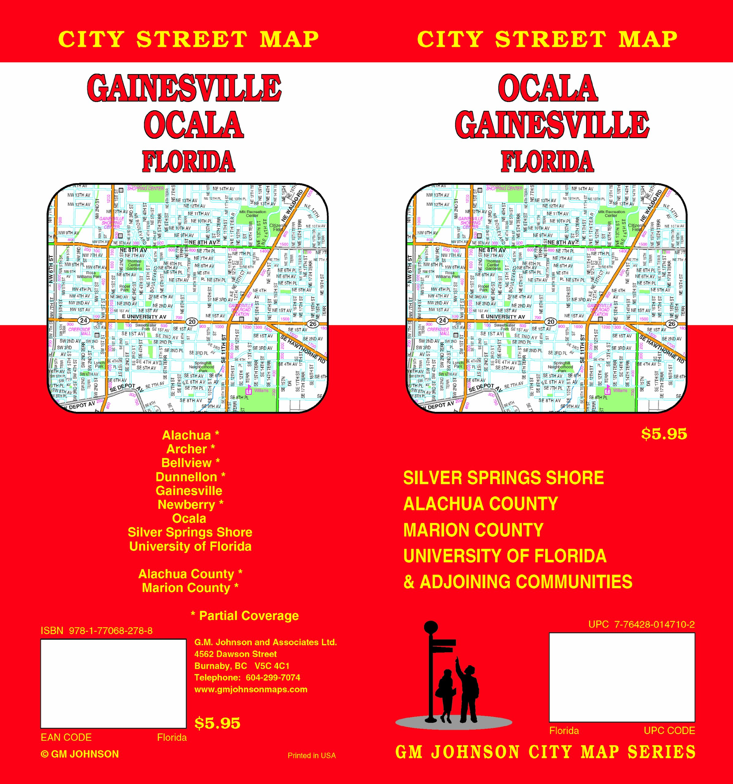 Gainesville Ocala Fl Gm Johnson Associates Ltd 9781770682788