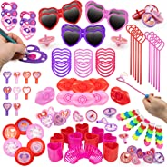 Party Favors for Kids 100 pc Bulk Princess Party Supplies - Birthday Party Supplies for Girls Goodie Bag Stuffers, Bulk Party