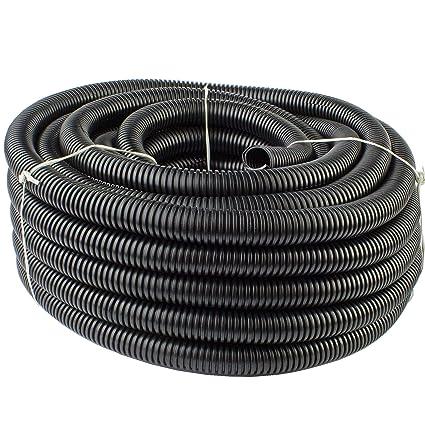 Incredible Amazon Com 25 Ft 1 2 13Mm Split Wire Loom Conduit Polyethylene Wiring Cloud Inamadienstapotheekhoekschewaardnl
