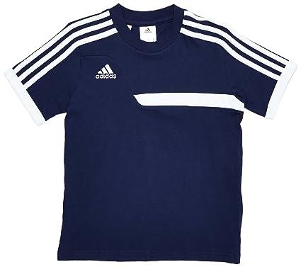 Adidas - Camiseta de fútbol sala infantil, tamaño 116 UK, color azul marino no