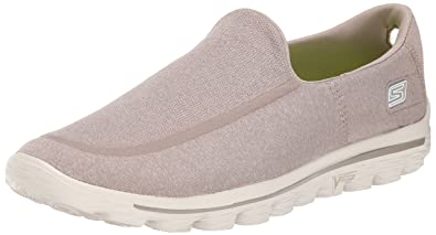 0ec98f26a11c5 Skechers Performance Men's Go Walk 2 Super Sock Slip-On Walking Shoe, Stone,