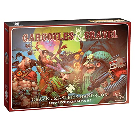 amazon com usaopoly team fortress 2 gargoyles and gravel puzzle