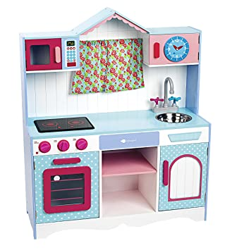 Itsimagical 87608 Provence Window Kitchen Holzkuche Fur Kinder