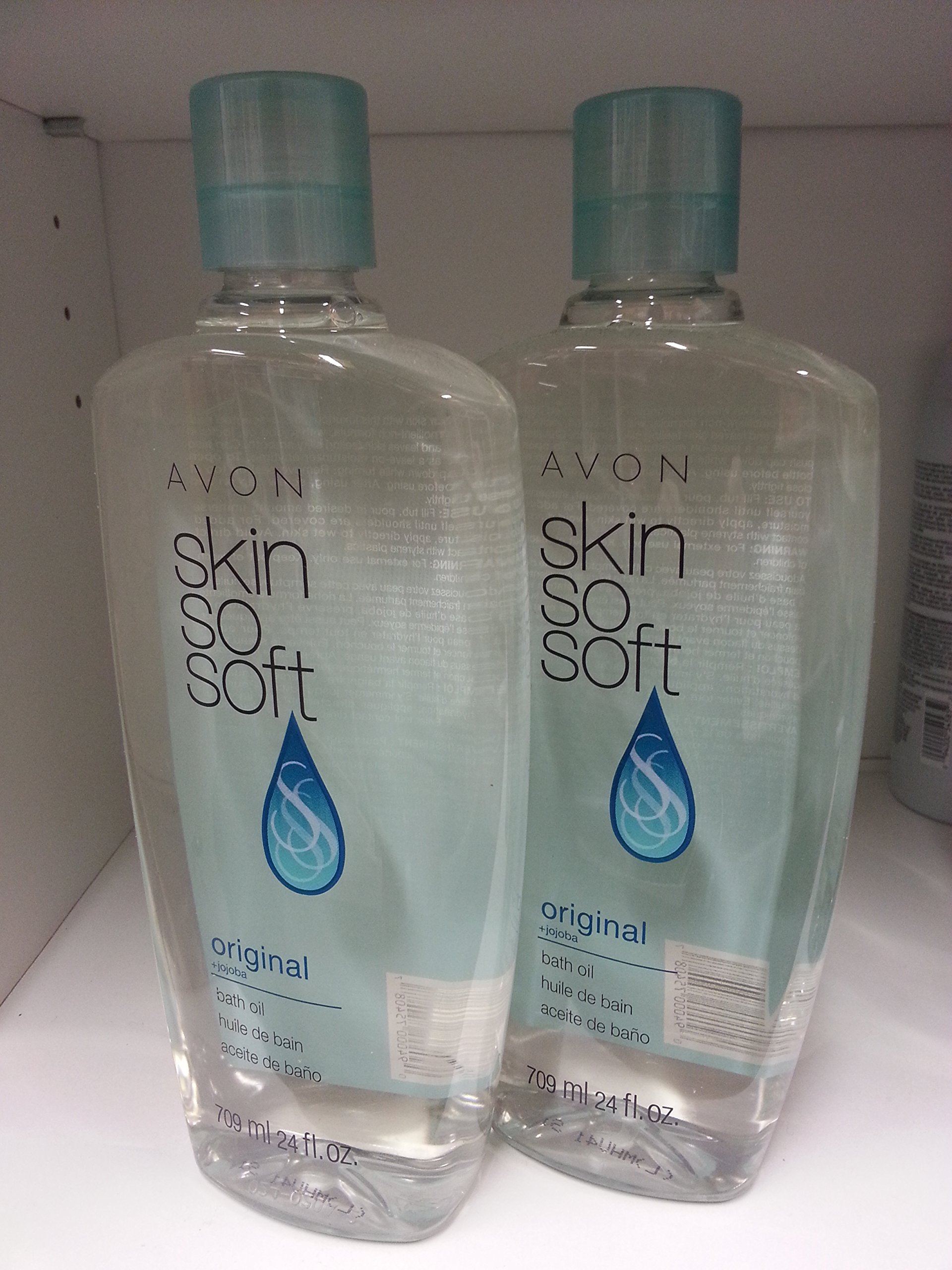 Lot of 6 Avon Sss Skin so Soft Bath Oil Original 24 Oz New by