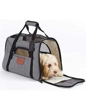 5308064f06 Hartann Pet Carrier Dog/Cat/Puppy/Rabbit Lightweight Luxury Soft Sided  Folding Grey