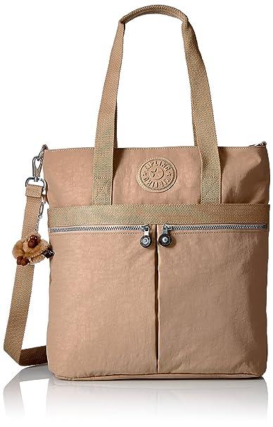 Amazon.com: Kipling Pammie Solid bolsa, Beige, talla única ...