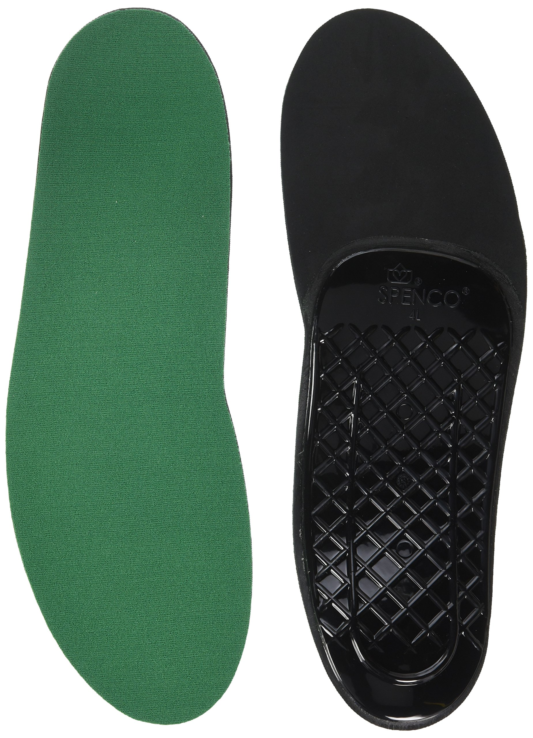 Spenco Rx Orthotic Arch Support Full Length Shoe Insoles, Women's 11-12.5/Men's 10-11.5