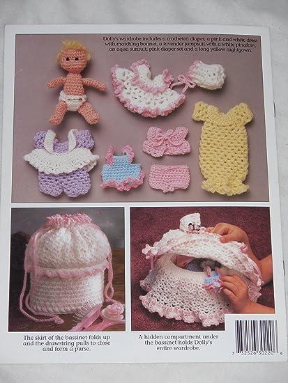 Amazon Crochet Dolly Tote Along Bassinet Annies Attic 302t