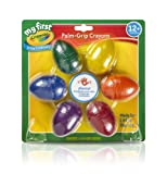 Crayola; My First Crayola; Palm-Grip Crayons; Art Tools; 6 count; Designed for Toddlers