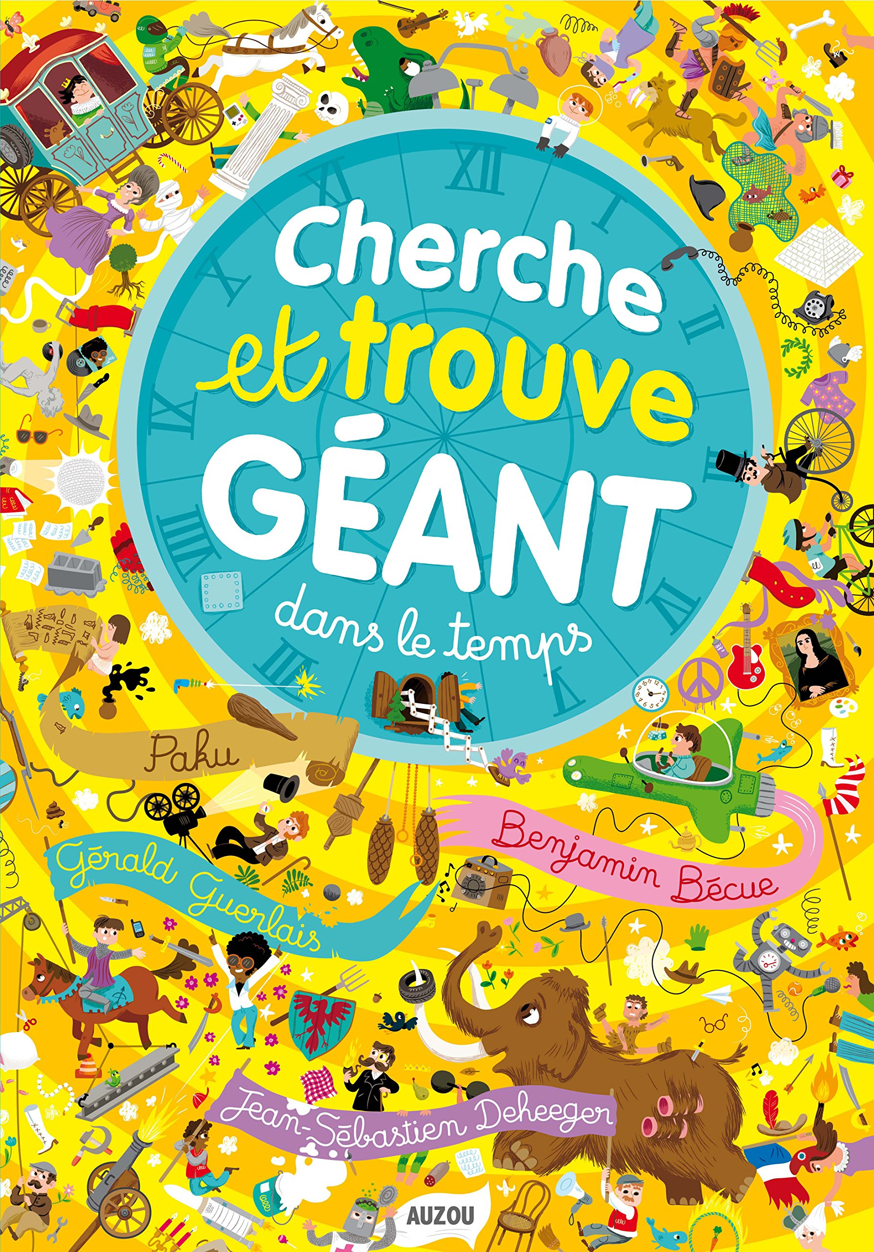 Cherche Et Trouve Geant Dans Le Temps 9782733825877