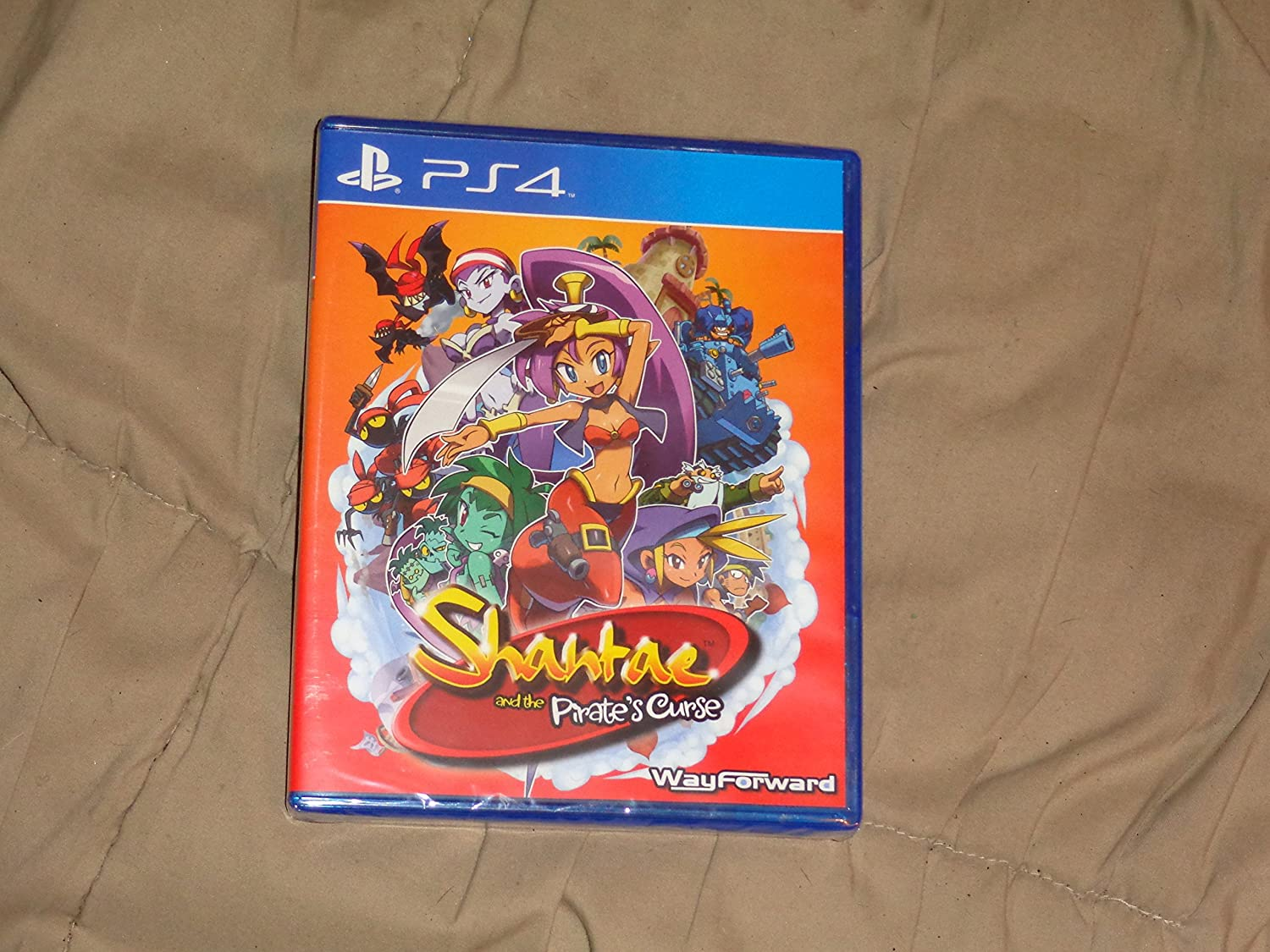 Amazoncom Shantae And The Pirates Curse Playstation 4 Video Games