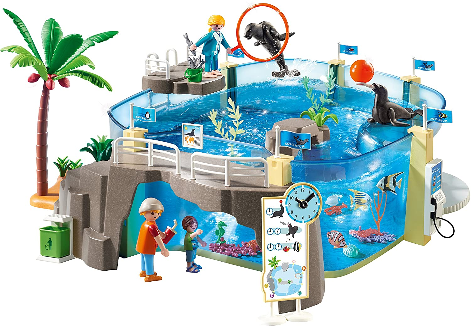 Playmobil Aquarium Building Se...