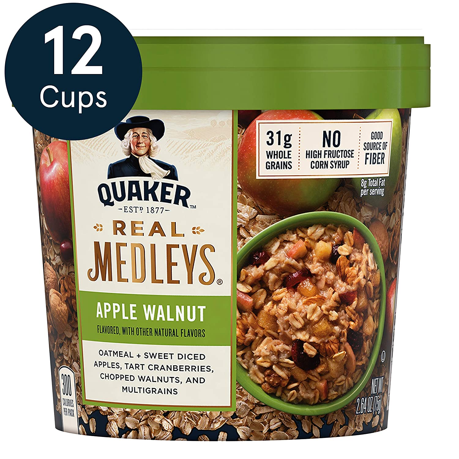 Quaker oatmeal. Come discover 23 Smart Quarantine Pantry Supplies for Social Isolation I Ordered. #quarantinesupplies #pandemic #suppliesforquarantine #covid19