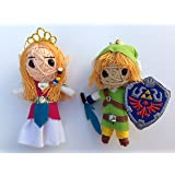 Princess Zelda & Link Set of 2 String Dolls from Legend of Zelda: Skyward Sword