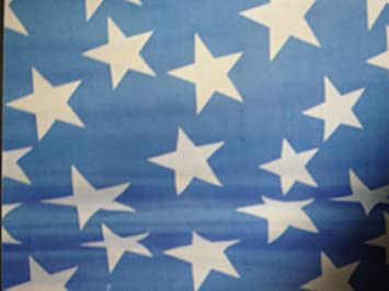 Blue Curtains blue curtains with white stars : Blue Shower Curtain with White Stars and metal eyelets: Amazon.co ...