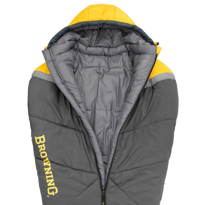 Browning Camping refugio + 15 grados momia saco de dormir: Amazon.es: Deportes y aire libre