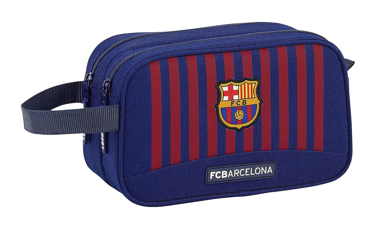 FC Barcelona 2018 Toiletry Bag Blue 26 cm Azul