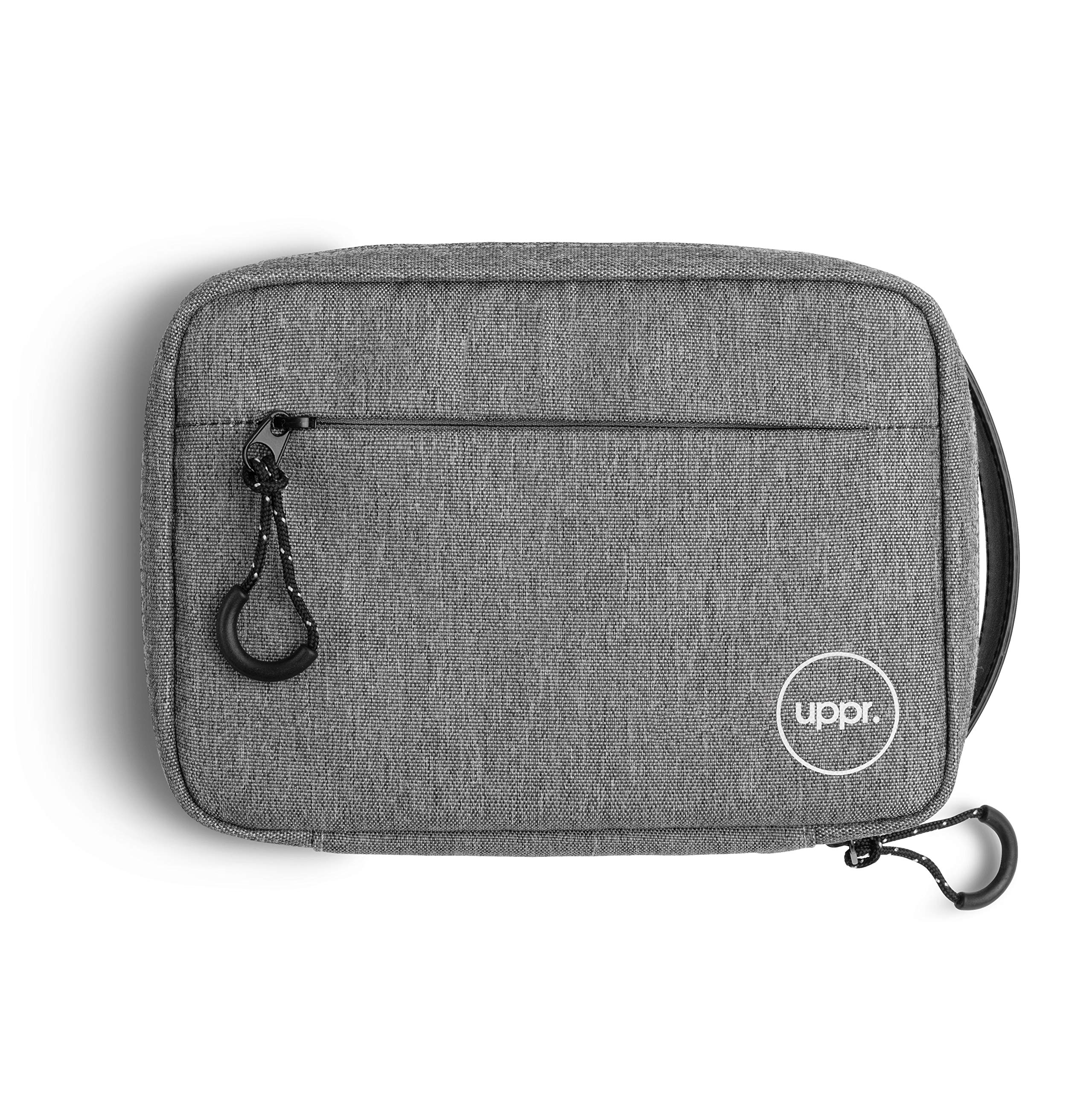 UPPERCASE Designs Organizer 9.0 Portable Electronic Accessories Travel Pouch with Leather Handle for Laptop MacBook Accessories, Chargers, Tech Gears, Gadgets, Cables, Cords, GoPro, Power Bank (9.0)... by UPPERCASE