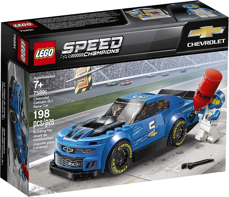 LEGO Speed Champions Chevrolet Camaro ZL1 Race Car 75891 Car Toy Boy Girl Gift