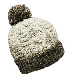 0fe69a69f3e Amazon.com   Super Soft Chullo Hat Ski Beanie Heavy Knit Alpaca ...