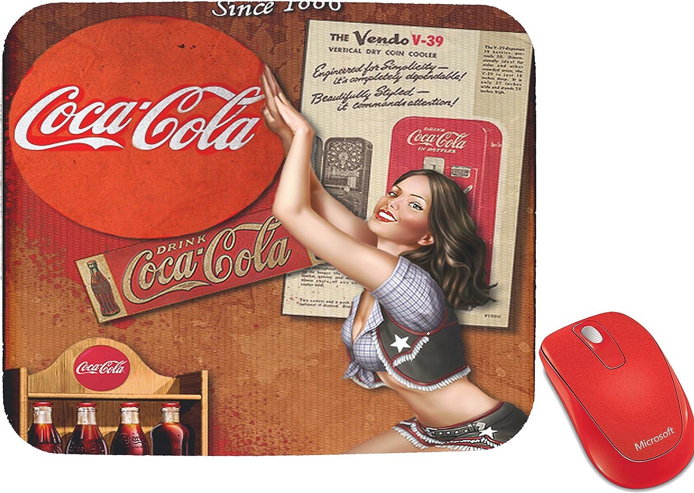 Vintage Coca Cola Design Mouse Pad Mousepad