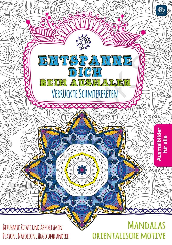 Das Produkt Malbuch B5 32 Seiten Verschiedene Motive Mandalas Und Orientalische Motive Amazon De Spielzeug