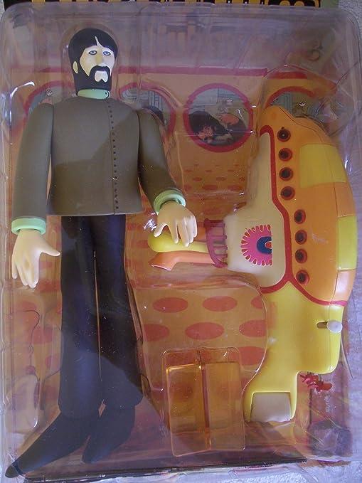 Amazon.com: The Beatles Yellow Submarine George Harrison Action ...