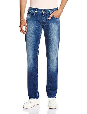 Gas Men s Morris Zip Regular Fit Jeans (8059890394821 69518 30W x  34L W179-Blue) cad0db9b122