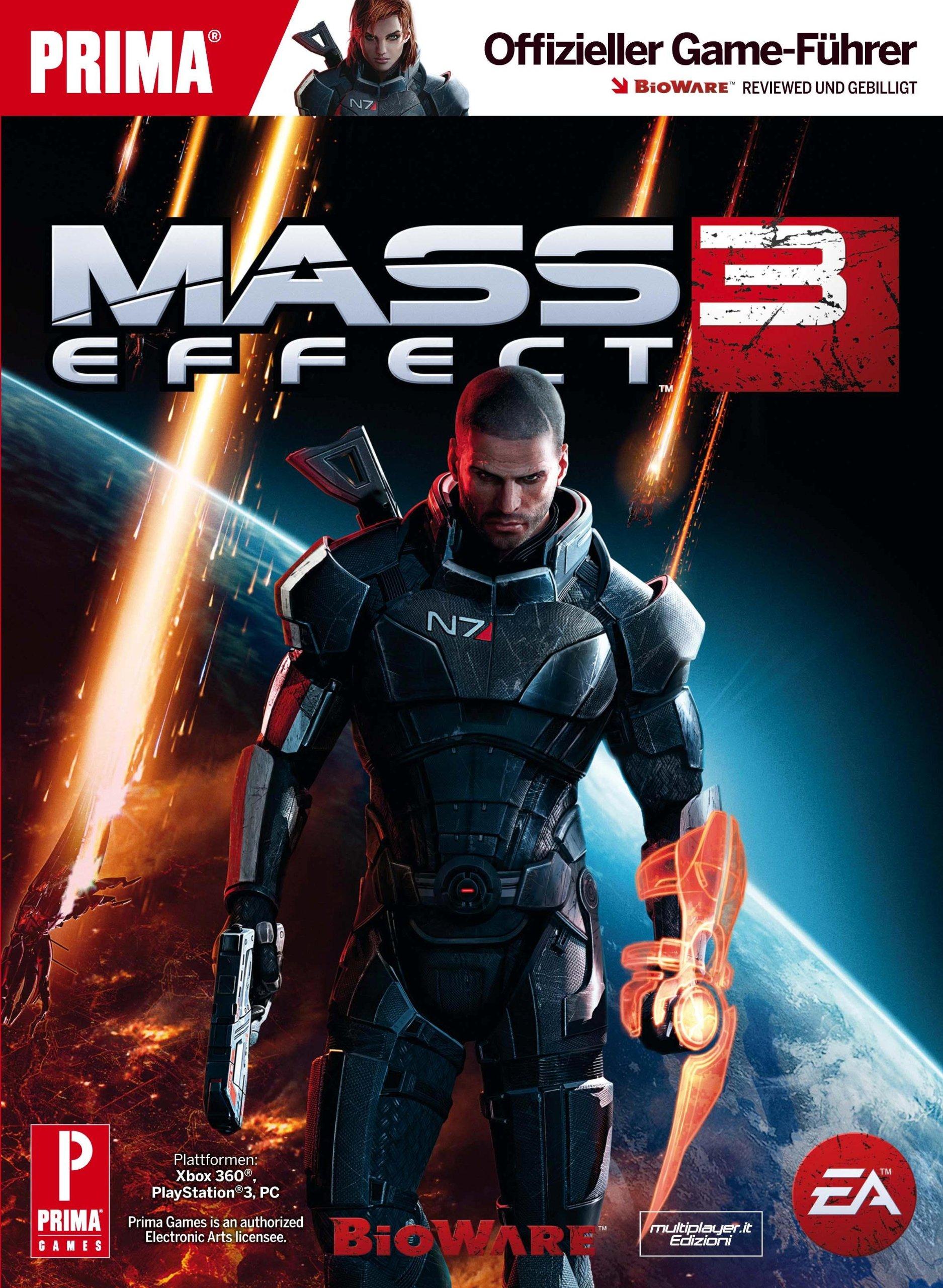 Mass Effect 3 Strategy Guide (Lösungsbuch)