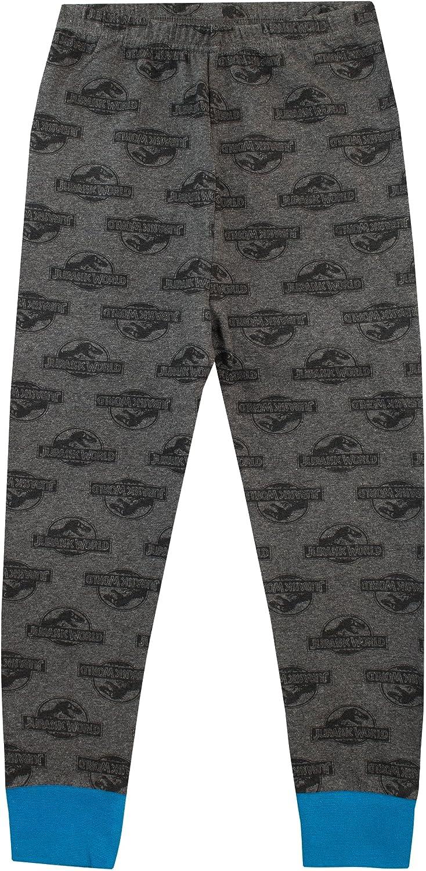 Jurassic World Boys Glow in The Dark Pyjamas Snuggle Fit