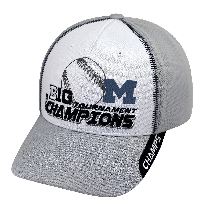 Michigan Wolverines 2015 Big 10野球Tournament Champs Locker Room帽子キャップ   B00YFLOX44